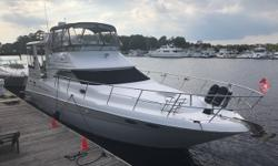 2002 Sea Ray 420 Aft Cabin 'GREAT ESCAPE'. 'GREAT ESCAPE' is without a doubt the cleanest, 420 Aft Cabin available. She has been kept in Fresh / Brackish Water from New. Her list of Upgrades is Extensive. In the past couple of years the following