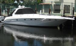 2002 46' Sea Ray Sundancer -- Excellent Condition -- Maintained with an Open Checkbook all of her LifeLoaded with Upgrades Including: Hydraulic Swim Platform, Satellite TV, Bow Thruster, Flatscreen TV's throughout, New Raymarine C80 + Much More!! ****You