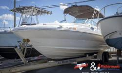 STOCK LIMITED 2002 Sea Ray Sundeck 240 Clean bay boat, needs some one to love on her but overall a decent boat!!! call us, all our used inventory must pass trade to go to lot for sale!!! Nominal Length: 24' Length Overall: 26.3' Max Draft: 3.4' Drive Up: