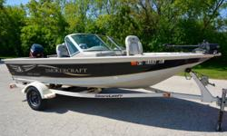 Brand new custom trailerable cover. Ready to fish today with 4-Stroke power! Runs as good as it looks. Beam: 7 ft. 0 in.