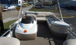 LOOKING FOR A BOAT THAT WON'T BREAK THE BANK! WE HAVE JUST THE BOAT FOR YOU. THIS 2002 SUN TRACKER PARTY BARGE 25 REGENCY I/O IS READY FOR THE WATER WITH LOTS OF SPACE FOR FRIENDS AND FAMILY. THIS BOAT IS EQUIPPED WITH THE MERCRUISER 3.0L ALPHA STERNDRIVE