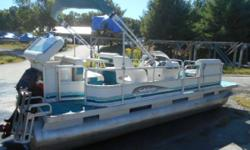 BOAT, MOTOR & TRAILER THIS 20' PONTOON HAS THE 50 MERCURY OIL INJECTED, TRAILER, SHOP INSPECTED, WILL BE LAKE TESTED, COMES WITH SOME WARRANTY TOO NO CHARGE, THIS IS A RARE UNIT, PRICING IS FIRM, WITH TRAILER! Engine(s): Fuel Type: Gas Engine Type: Other
