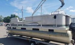 2002 Sweetwater Challenger 200 ES, Includes Full Mooring Cover, (2) Fishing Seats, Fish Finder, Stereo w/ Speakers. This pontoon is perfect for both cruising and fishing.Does not include a trailer but one is available for and additional cost.Give us a