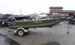 2002 Triumph 170 Sportsman - Mooring Cover - Center Console - Rod Holders - Camo Seat - Bow Pedestal with pole - Garmin Fish Finder - Trolling Motor - Yamaha Motor Nominal Length: 17' Max Draft: 0.5' Engine(s): Fuel Type: Other Engine Type: