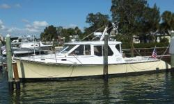 Turn heads with this BEAUTIFUL, well maintained True North 38 is a great example of a do-anything, go anywhere Downeast power boat. Weather you are a couple looking to get away for a weekend, gunkholing up and down the coast or a family with kids