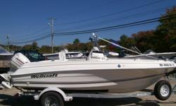 This Boat will be back in the yard late March, early April. This 180 Fisherman is so clean I didn't want to get in it to take pictures! Literally looks like a 2014 Model! The perfect center console for the 1st time buyer. Nice lighted live well, raw water