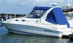 Offered for consideration; 2600 Martinque 2002 All Factory options, including generator, new enclosure, new carpets. For thediscriminatingbuyer, this is the kind of vessel we are all looking for! Showroom condition at afractionof
