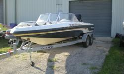2003 Nitro 288 Sport- Fish and Ski. Loaded with a trolling motor, 200 HP Mercury, fish finder, removable carpet, tandem axle trailer, and much more. Boat had less than 30 hours, the paint hasn't been burned off the engine yet! Must see to appreciate!