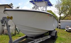 FOR QUESTIONS CONTACT: ERIC 941-404-0452 or claytongator@yahoo.com This is a 2003 Yellowfin 23 Offshore powered by twin Yamaha 200HP HPDI outboards and includes an Owens and Sons Custom trailer! OWNERS COMMENTS: I am the original owner of this boat and it