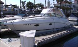 This is a great condition low hour boat. Has almost every option from the factory nfuruno radar, raymaine plotter/gps, Sony stereo, windlass, gas detection, fire suppression system, fume and gas detection. The cabin has beautiful wood accents, tv/DVD