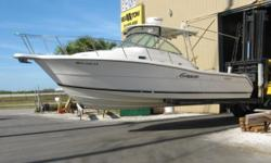 *** FOR QUESTIONS CONTACT: STEVE 407-257-5697 or steve3060@bellsouth.net *** This is a 2003 Pursuit 3070 Express powered by twin Yamaha F225 four strokes with 850 flawless hours. Boat in mint condition, never bottom painted, barn stored. Reason for