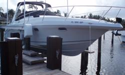 PRICE JUST REDUCED TO $99,900. A beautiful vessel. Meticulously maintained and like brand new inside and out. Every system in perfect working order. Just completed the dealer 150 hour full service. This boat is NMMA certified and has been always kept out