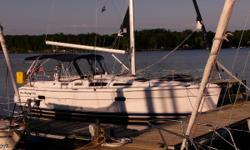 RECENT PRICE REDUCTION! Ready To Set Sail! One Owner! Highly Motivated to sell!  Very Clean Boat!  The Hunter 356 is a great designed boat, both in performance and in live-ability. On deck the boat has all of it's control lines