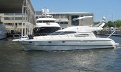 Description For full and complete specificationsClick Here Introduction Solidly built spacious comfortable and a great ride make this Euro-styled 48' Flybridge Motor Yacht a great family cruiser and a great buy! Originally founded in 1870 in Lake Como
