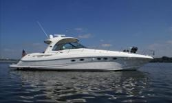 Looking to spend time on the water in a yacht that is large and comfortable, and does everything with class? Here is your Sea Ray 500 Sundancer. This boat is clean, and has been taken care of by its owners. The A/C in the cabin was nice and cold, the