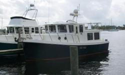 Major Price Reduction to $219,900. This Great boat at this Great Price won't Last Long!! ARE YOU READY TO LIVE YOUR DREAMS? THIS GREAT TUG IS READY TO TAKE YOU!! BEAUTIFUL CONDITION INSIDE AND OUT!! Cummins 330hp Diesel w/1860 hours Bow and Stern