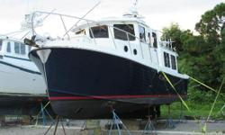 $10,000.00 Price Reduction!! Call Today!! This Great Tug at this Great Price won't Last Long!! ARE YOU READY TO LIVE YOUR DREAMS? THIS GREAT TUG IS READY TO TAKE YOU!! BEAUTIFUL CONDITION INSIDE AND OUT!! Cummins 330hp Diesel w/ only 1860 hours Bow