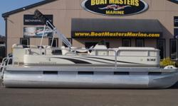 SOLD 2003 Bennington 207L PACKAGED WITH A YAMAHA 70HP ENGINE! Hull color: White-Black Stock number: BEN639