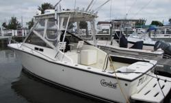 Ready for the 2017Fishing Season Check out this ULTRA Clean, low hour DIESEL Powered Carolina Classic.. She has the desired 300 HP engine to deliver superior performance. The jack shaft configuration allows the engine to be mounted
