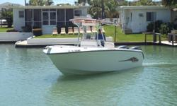 Own this boat as low as 339.21 mo** Beautiful 26' offshore Center Console ready to take to the Gulf With twin 4-Stroke, 225 HP Yamaha's, Hydraulic steering, Stainless props, Tilt steering Wheel, 2 Batteries with 2 on/off Switch, hydraulic trim tabs,