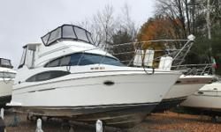 LOOKING FOR AN INEXPENSIVE CONDO ON THE WATER, LOADED WITH OPTIONS AND IN FANTASTIC CONDITION? THIS CARVER 366 AFT CABIN MOTOR YACHT IS WHAT YOURE LOOKING FOR! SHE IS POWERED BY TWIN MERCRUISER 6.2L INBOARDS PUTTING OUT 320HP EACH WITH ONLY 485 HOURS OF