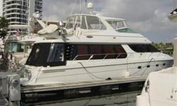 $70,000 Price Reduction 4/2011 - OWNER SAYS SELL!   2003 57' Carver Voyager PilotHouse -- Gorgeous Vessel in Excellent Condition -- Only 385 HOURS on Twin 675 HP Volvo D-12's!! She has a 3 Stateroom Layout with Dual Helm Stations & a Large Salon and