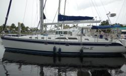 This 2003 Catalina 470 is extra nice and well maintained! Owner motivated! Make offer! Call Scott at 813-484-4476 for more information. LOA: 47 LWL: 42 Beam: 14 Displacement: 27750 Draft: 59 Bridge Clearance: 64 Ballast: 9550 Yanmar 75 hp serviced