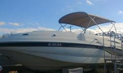 2003 Chaparral 242 Sunesta GREAT BOAT, NEW REMAN ENGINE, BIMINI TOP, NEW STEREO, NEW SNAP IN CARPET.