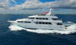 Launched in 2003, 'Namoh' represents one of yachting's great ownership opportunities.  Built by Cheoy Lee, which has a rich history of over 100 years of ship-building, 'Namoh' is a combination of volume and style and is a solid yacht designed by the