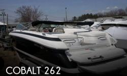 Actual Location: Dorchester, MA - Stock #072590 - If you are in the market for a bowrider, look no further than this 2003 Cobalt 262, just reduced to $39,900 (offers encouraged).This boat is located in Dorchester, Massachusetts and is in great condition.