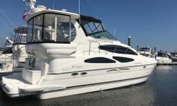 This owner has a bristol condition motoryacht! Meticulous is not the word to describe how this beauty has been cared for. A real treasurer awaits! Nominal Length: 40' Length Overall: 40' Drive Up: 3.5' Draft: 3 ft. 6 in. Beam: 13 ft. 8 in. Fuel tank