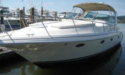 2003 Cruisers Yachts 3372 Express 2003 Cruisers Yachts 3372 Express model in great condition Single owner of this extremely clean and professionally maintained boat Equipped with Twin Volvo Penta 5.7Gxi-DP Stern Drives (dual 320hp) FWC Currently with 570