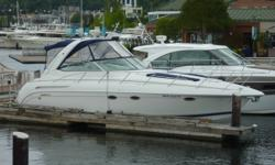 """""""YES! This boat has twin Diesel engines! A rare performance package that not only allows you to cruise at 90% power without damaging the engines, but will also offer expected engine life that is 5X greater than gas power. Oh yea, and much better fuel"""