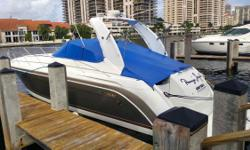 (LOCATION: Miami FL) The Formula 40 PC is a full-featured cruiser with style, luxurious accommodations, and performance. This  Formula features a large open cockpit with ample seating and a spacious upscale interior. Day-cruising  or planning a