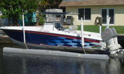 NEW 300 hp Suzuki Outboards with 6 years of warranty.All New Electronics. The nicest 34 for sale.The Owner put 70K plus into restoring the boat in 2013. He started with power and rigged a pair of brand new 300hp four stroke Suzukis with 6 years of