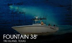 """Actual Location: Tiki Island, TX - Stock #053022 - The """"FISHING BEAST"""" with trip 4-stroke honda 225's, ratheon radar and a simrad auto pilot system!Do you want to thrill your friends, terrorize the fish and have everyone trying to figure out what just"""