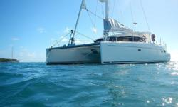 """Not available to US Citizens in US Waters. RECENT PRICE REDUCTION!!!!! DOUBLE TROUBLE is a fast, ocean certified, catamaran with very livable accommodations and easy to sail layout. This design also includes a very high """"Bridge Deck"""" which almost"""