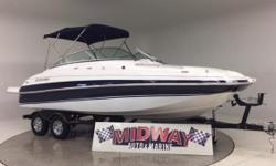 24' Large runabout! Fuel Injected engine. Runs great!! And can you believe this is priced below $25,000?!?!, Comes with warranty! Ask about Free delivery.  Add a wake tower for only $1800.00. Go to our web site