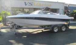 Ready for an awesome day on the lake in a multi-sport boat that has enough room for your friends and family? This is the boat for you. Call Shawn for more details (805) 466-9058 or email shawn@vsmarine.com Engine(s): Fuel Type: Gas Engine Type: Stern