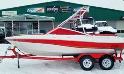 2003 Four Winns 200 Horizon - $17,995 Great family boat with plenty of power packed in with the 5.0L fuel injected motor. Plenty of room for boards and skis with the tower racks. Make for the perfect affordable weekend family boat. SPECS Length: 20? Beam: