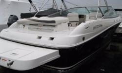 REDUCED PRICE 2003 Four Winns Horizon 240 This 2003 Four Winns horizon 240, with a Volvo-Penta 5.7, is a perfect boat to get out on the water with. Plenty of room for entertaining, or for just taking a cruise on to see the fireworks. Boat