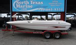 2003 GLASTRON SX-205 This boat isn't perfect, but if you're looking to get on the water and keep your budget in line, she's definitely worth a look. She's powered by a 190 HP Volvo/Penta and has room for 10 onboard. The price includes the trailer and