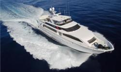 "This gorgeous 100 Hatteras Raised Pilothouse Motoryacht ""Supernova"" is professionally maintained and is in turn-key condition. Nominal Length: 100' Length Overall: 100' Max Draft: 6.5' Engine(s): Fuel Type: Other Engine Type: Inboard Draft: 6 ft. 6 in."