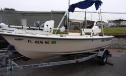 2003 Key West 1520 CC with a 50hp Johnson engine and galvanized trailer. New Lower unit, Depth Finder, trolling motor and cover.