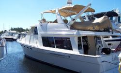 This is your Great Looper and Bahamas Dreamboat! The absolute nicest 490 Pilothouse on the market today, continuously upgraded and loaded with all the bells and whistles you could ever imagine to give you long term cruising ability.  One of the most