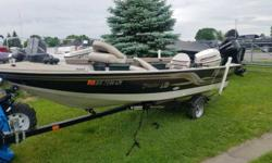 THIS USED BOAT PACKAGE INCLUDES: 2003 MIRROCRAFT TROLLER LTD, 2002 JOHNSON 40 J40PLSTD,  2002 YACHT CLUB BUNK TRAILER, ANCHOR MATE, LOWRANCEDIGITAL DEPTH GAUGE,COVER, LOAD GUIDES, AND STARING BATTERY. CALL MARINE SALES FOR YOUR