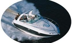 2003 Monterey 265 Cruiser on the Pensacola, Florida Gulf Coast There is full-size headroom aboard the 265. Loaded with appointments, it is one of the most livable 26-footer on the water. Slip into the plush comfort of the U-shaped dinette which converts