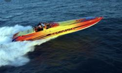 Triple 604ci/850 Hp with less than 20 hours since rebuildsNew upholstery in 2017Upgraded Garmin GPS plotterUpgraded JL stereo systemCMI Big Tube headersBam transmissions5 Blade Merc propsHuge Cabin with 6'2 headroomAir conditioningSeparate enclosed