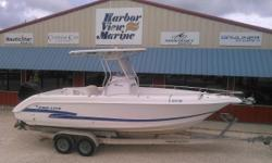 Well maintained, sharp example of a 2003 Pro Line 24 foot Center Console! 2003 Mercury 225 XXL EFI saltwater edition w/ power trim GPS and VHF radio 22 Gallon bait tank Nice hard top T-Top clean trailer Stop by personally to see this well maintained