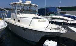 2003 ProKat 2860 Walk Around Offering my 2003 ProSports ProKat 2860 for sale. There arent that many of these on the West Coast. With a 96 beam and a solid 32 overall, this is just about the biggest trailerable catamaran you can find. - twin Merc-Cummins